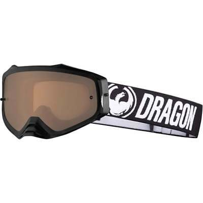 NEW Dragon MXV PLUS Motocross MX Off Road Goggles - Coal / Silver Ion