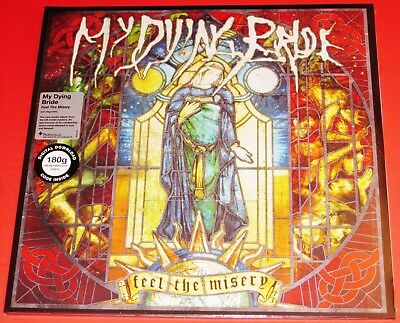 My Dying Bride: Feel The Misery Double 180-Gram 2 LP Vinyl Record Set 2015 NEW