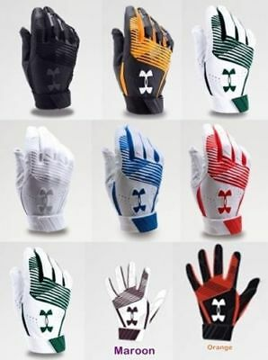 Under Armour UA Clean Up Baseball Softball Batting Gloves, Adult, Men's, 1299530