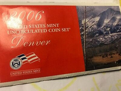2006 United States Denver Mint Uncirculated Coin Set
