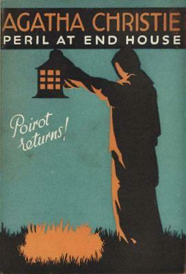 Poirot - Peril at End House by Agatha Christie   Hardcover Book   9780007234394