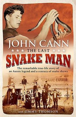 NEW The Last Snake Man By John Cann Paperback Free Shipping