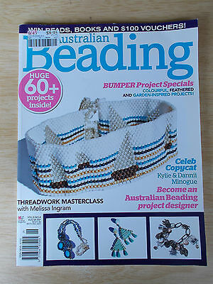 Australian Beading Vol 5 #4~60 Projects~Dannii Minogue~Watch~Birthstone~Pendant
