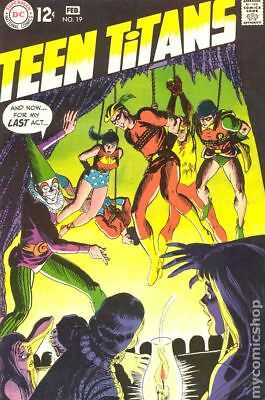 Teen Titans (1st Series) #19 1969 GD/VG 3.0 Stock Image Low Grade
