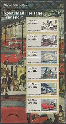 UK Post & Go Royal Mail Heritage Transport Stamp Set MNH 2016