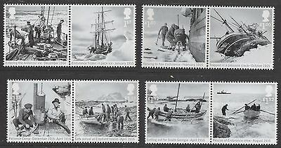 UK Shackleton Stamp Set MNH 2016