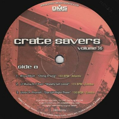 "Crate Savers 36 - Missy Elliott/Lil Mama/Usher/K.Sweat - 12"" US NEU"