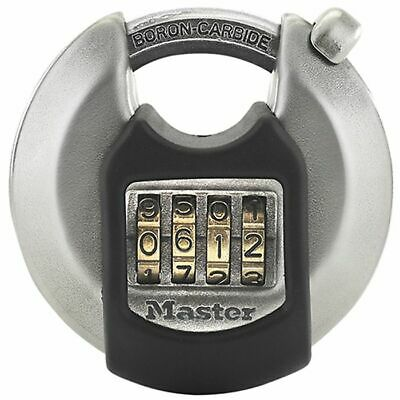 Excell Discus 4-Digit Combination 70mm Padlock by Master Lock - M40EURDNUM