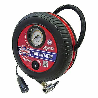 Tyre Inflator 12v Low Volume by Faithfull - TLG015