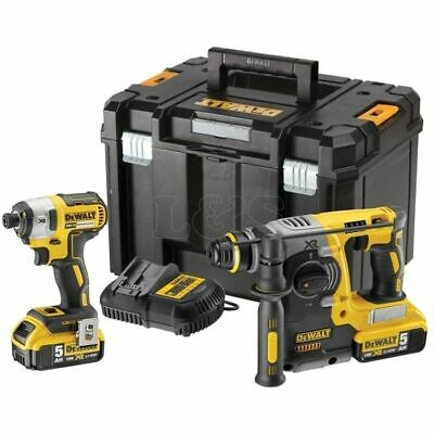 DCK2532P2 XR Twin Pack 18 Volt 2 x 5.0Ah Li-Ion by DEWALT - DCK2532P2-GB