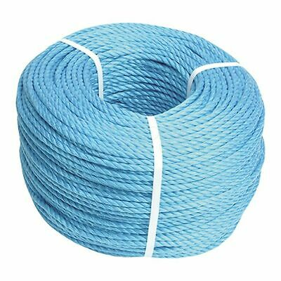 Blue Poly Rope 8mm x 220m by Faithfull