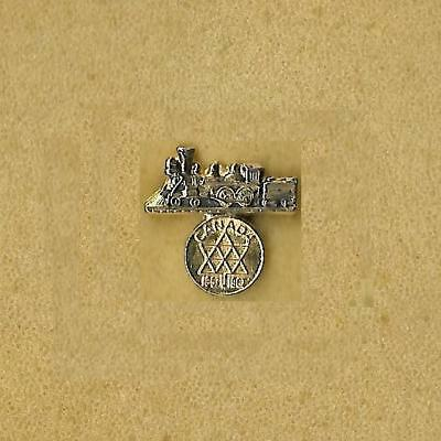 Canada Boy Scout 100 Year Anniversary 1867-1967 Very Old Train Pin