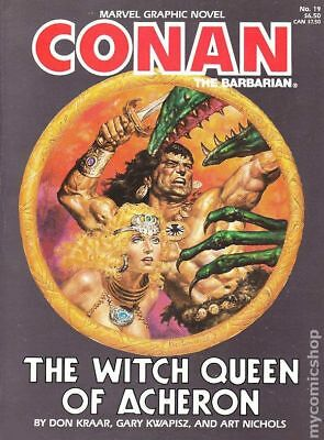 Conan the Barbarian The Witch Queen of Acheron GN (Marvel) #1-1ST 1985 FN