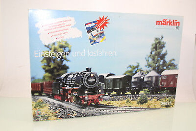 Märklin H0 28625 Starter-Set mit Delta-Digital Dampflok in OVP (NL4771)