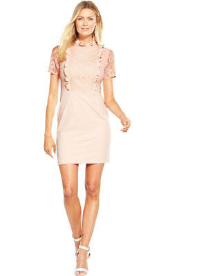V by Very 2 In 1 Lace Ruffle Dress
