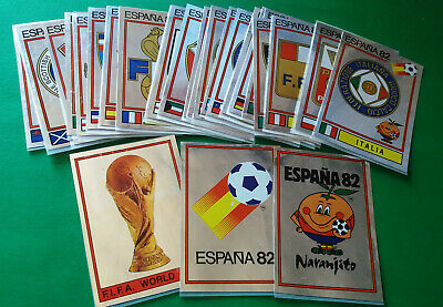 PANINI WC ESPANA 82 - badges at your choice - removed very good condition [MAX]