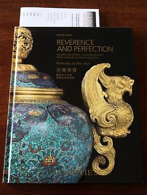 Christie's HK, Reverence and Perfection:Magnificent Imperial Cloisonne, May 2013