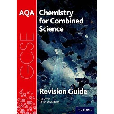 AQA Chemistry for GCSE Combined Science: Trilogy Revisi - Paperback NEW Orwin, S