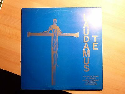 "12"" LP - Laudamus Te - The Boys Choir - St. John's Cathedral - (10 Songs)"