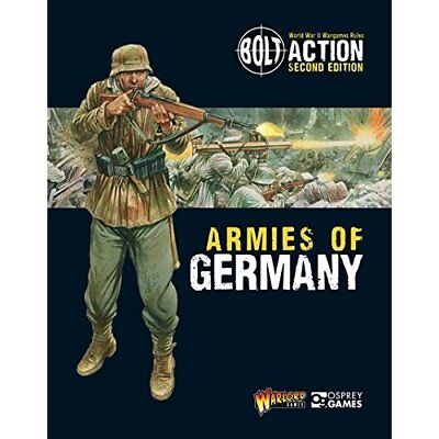 Bolt Action: Armies of Germany: 2nd Edition - Paperback NEW Games, Warlord 11/10