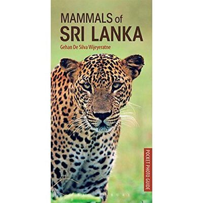 Mammals of Sri Lanka - Pocket Photo Guides  - Paperback NEW Delete(Wijeyera 14/0