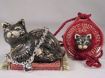 Rinconada Silver Event 'Cat Box' +Medallion #615 Red SIGNED W/Bracelet New In Bx