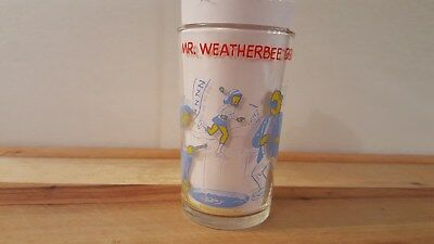 Vintage Archie Comics Jelly Glass 1973 - Mr Weatherbee Drops In