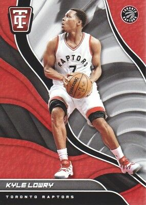 2017-18 Totally Certified Basketball #95 Kyle Lowry Toronto Raptors