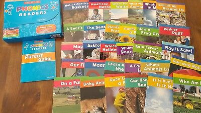 CAPSTONE Phonics Readers BOXED Lot 30 LEARN to READ Sight Word NONFICTION Rare!