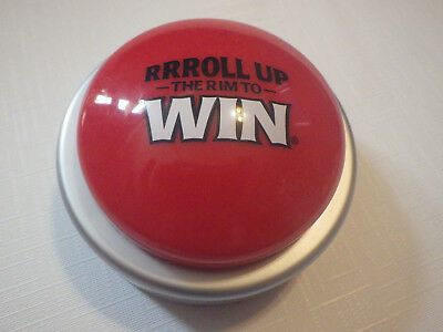 Rare Tim Hortons Roll Up The Rim Button Works Tim Hortons Coffee Htf