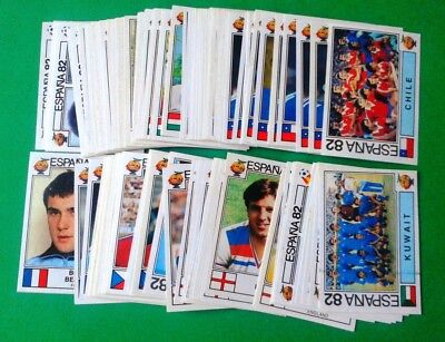 PANINI WC ESPANA 82 - stickers at your choice n.146/291 - removed VG cond [MAX]