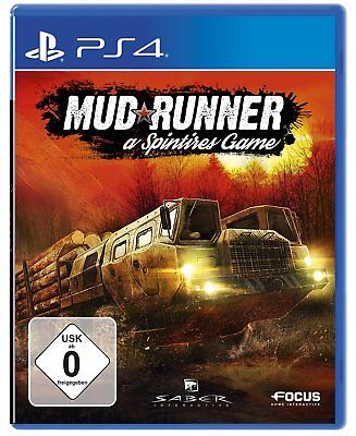 Spintires - mudrunner PS4 PlayStation 4 NUOVO + conf. orig.