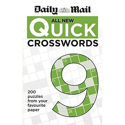 Daily Mail All New Quick Crosswords 9 (The Daily Mail P - Paperback NEW Mail, Da