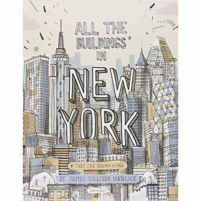 All the Buildings in New York: That I've Drawn So Far - Hardcover NEW Hancock, J