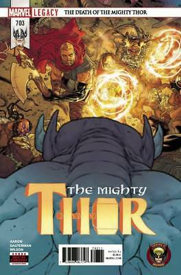 Mighty Thor #703 Marvel Legacy Where's Wolverine? Death Of Thor Pt 4 Jane Foster