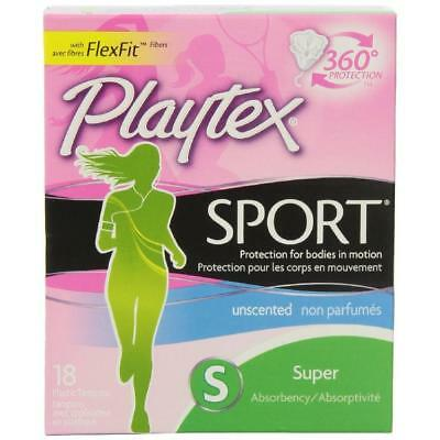 Playtex Sport Tampons - Super - 18 ct