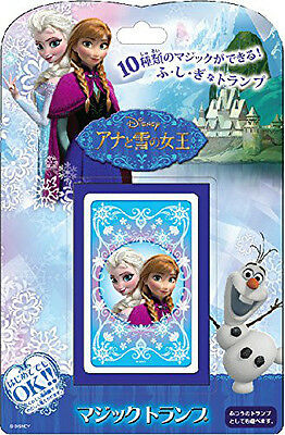 Tenyo Japan 116371 CARD MAGIC DISNEY FROZEN (Magic Trick)