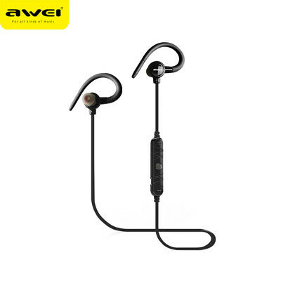 Awei Wireless Stereo In-ear Sport Bluetooth V4.0 Earphones Headset For iPhone
