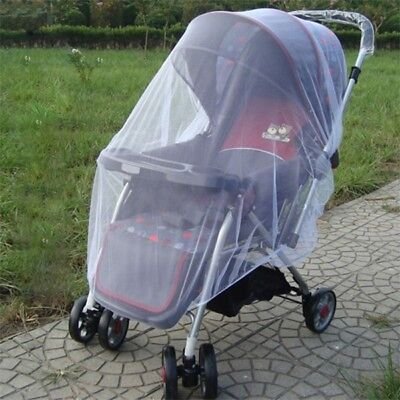 Durable Baby Buggy Pram Mosquito Net Pushchair Stroller Insect Protector US