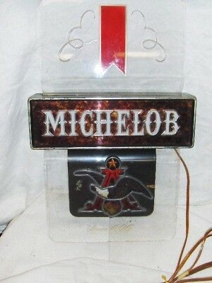 "Anhieser Busch Lighted Michelob Beer Sign - About 18"" x 12"" - (L45"
