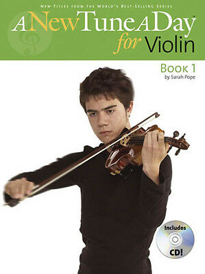 A New Tune A Day for Violin Book 1 Beginner Lessons Learn How to Play CD NEW