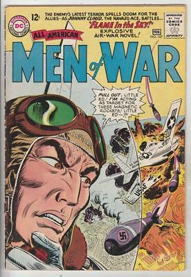 All-American Men of War  # 107  strict  FN- full-length Johnny Cloud