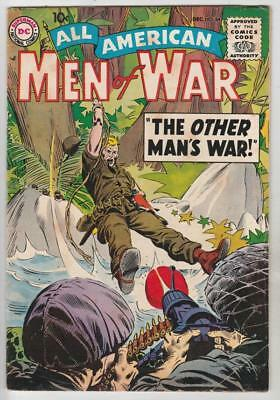 All-American Men of War  # 64  strict  FN/VF Easy Co. Cover Story Pre-Sgt.Rock!