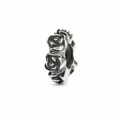 TROLLBEADS Stop in Argento Rosa San Valentino TAGBE-20186