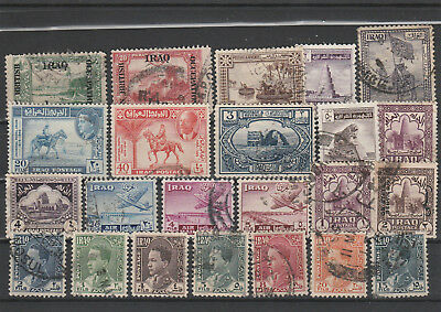 Iraq Iraq Middle East older Postage Stamps mix old Stamps mix Lot Am 5053