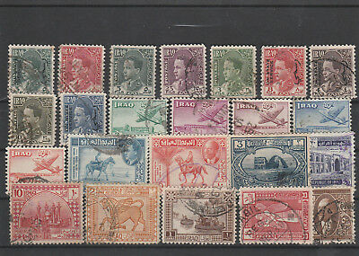 Iraq Iraq Middle East older Postage Stamps mix old Stamps mix Lot Am 5054