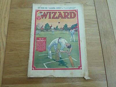 1938 No 813 THE WIZARD COMIC ORIGINAL COMPLETE GOOD CONDITION