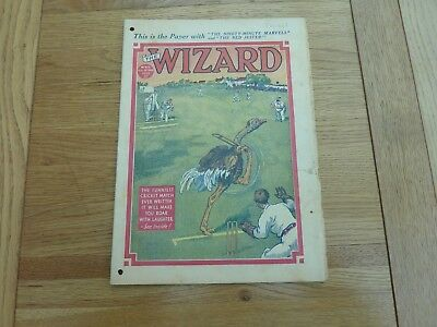 1939 No 873 THE WIZARD COMIC ORIGINAL COMPLETE GOOD CONDITION