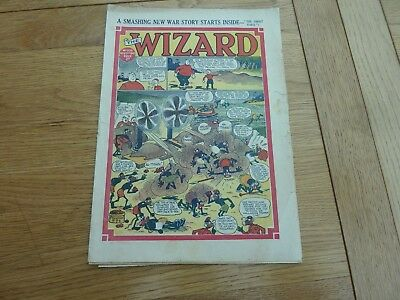 1940 No 938 THE WIZARD COMIC ORIGINAL COMPLETE GREAT CONDITION