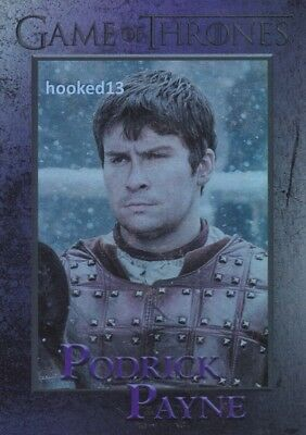 Game Of Thrones: Season 6 Podrick Payne FOIL Parallel Card